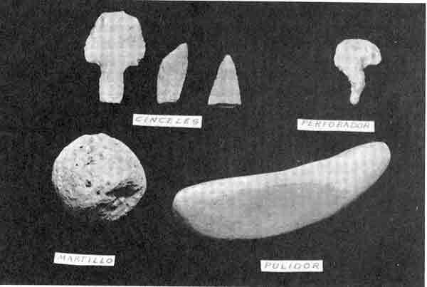 petreos prehispánicos para el tallado de piedra, los cinceles y el ...